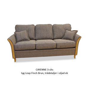 Soffa CAYENNE 3-sits