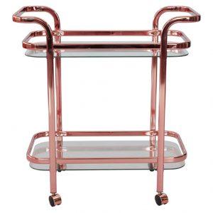 Serveringsvagn FRANS blank rosé