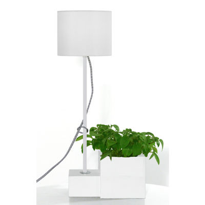 Bordslampa POT vit